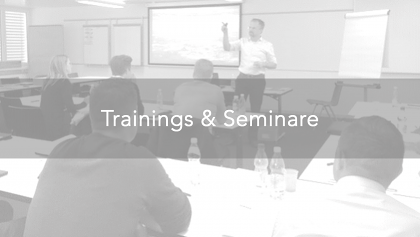 Trainings & Seminare